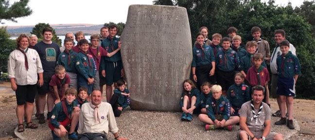Scout and Explorer Summer Camp – Brownsea 2018