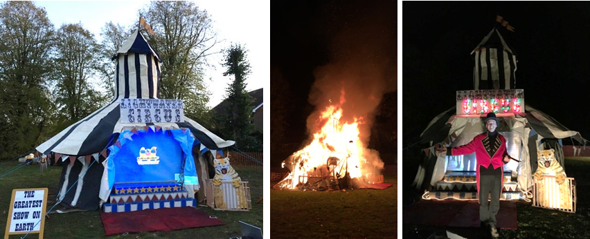 Bonfire and Fireworks 2018 – The Greatest Showman