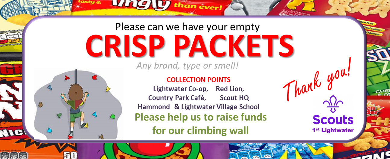 Crisp packets and Co-op points please